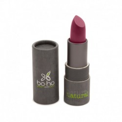 Barra de labios mate bio 110 burgundy kiss boho green make up