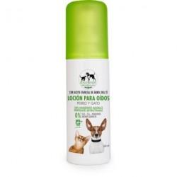 Loción limpieza oidos perros y gatos 100 ml biocenter
