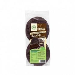 Tortas de arroz bañadas con chocolate fondant bio 100 g sol natural