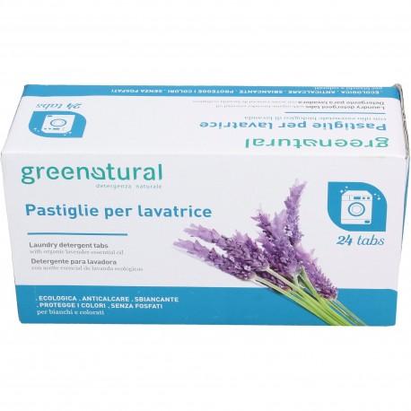 Pastillas de detergente lavadora 24 unid. greenatural