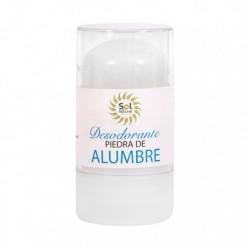 Desodorante piedra de alumbre 120 g sol natural