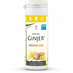 Chicles de jengibre y limón 30 g original ginjer