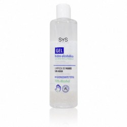 Gel hidroalcoholico con aloe vera 300 ml laboratorio sys