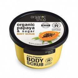 Exfoliante corporal canela y miel 250 ml organic shop