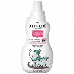 Suavizante sin perfume 40 lavados 1l attitude