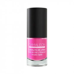 Pintauñas rosa pastel Camaleon cosmetics