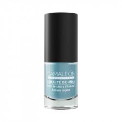 Pintauñas gris azulado Camaleon cosmetics