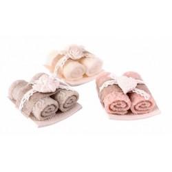 Vela toalla bandeja