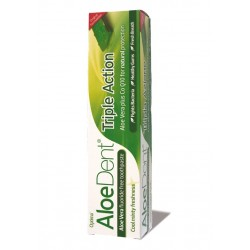 Dentifrico con aloe vera 100ml optima aloe dent