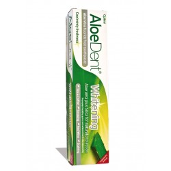 Dentifrico blanqueador con aloe vera 100ml optima aloe dent