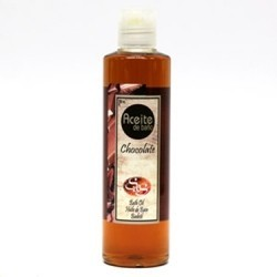 Aceite de baño de chocolate 250ml laboratorio sys